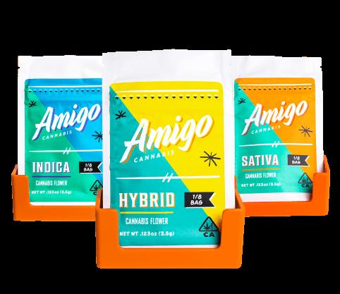Amigo Cannabis Eighth Bag
